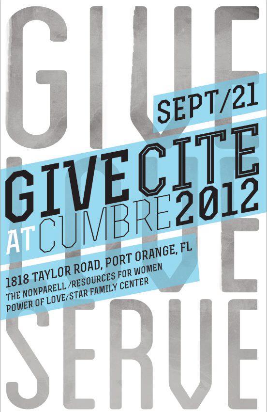 Give Cite at Cumbre 2012